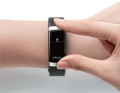 InBody Band - A wearable with body composition analysis is finally here! From the medical device manufacturer, InBody, comes a wearable that not only tracks and records your daily activities, but MEASURES your progress: % body fat, muscle mass, & fitness