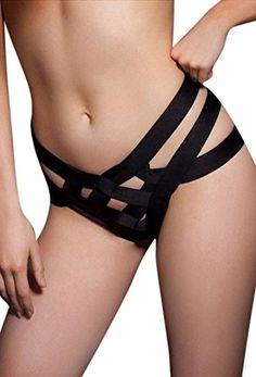 89381faec184 Blinlina Women's Sexy Unique Bondage Bodycon Underwear Lingerie Thongs  Panty at Amazon Women's Clothing store: