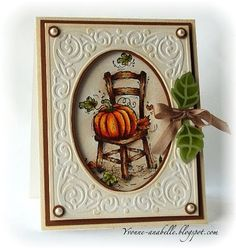 Can't wait to make this card!  I have a chair stamp that might work!