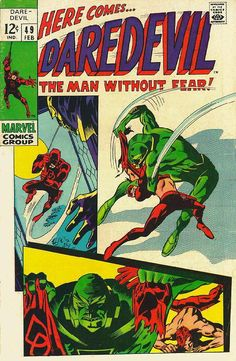 Daredevil # 49 by Gene Colan & George Klein