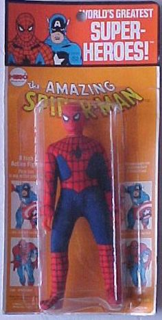 Spiderman Action Figure Toy Doll. #sipderman #mavel