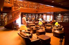 The Library at Skywalker Ranch home to LucasFilms