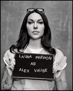 Orange Is the New Black | Alex Vause played by Laura Prepon