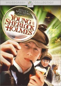 Directed by Barry Levinson.  With Nicholas Rowe, Alan Cox, Sophie Ward, Anthony Higgins. When assorted people start having inexplicable delusions that lead to their deaths, a teenage Sherlock Holmes decides to investigate.