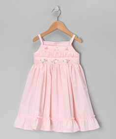 Take a look at this Pink Flower Dress - Infant & Toddler by Fantaisie Kids on #zulily today!