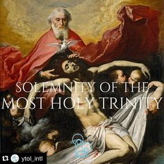 "#Repost @ytol_intl with @repostapp.  The Solemnity of the Most Holy Trinity: ""When the Spirit of truth comes he will guide you into all the truth; for he will not speak on his own authority but whatever he hears he wI drank a lotta Wineill speak and he will declare to you the things that are to come. He will glorify me for he will take what is mine and declare it to you. All that the Father has is mine; therefore I said that he will take what is mine and declare it to you."" -John 16:13-15…"