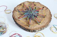 Holz-Mandala mit Kindern basteln - [GEO]