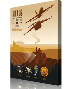 Share Squadron Posters for a 10% off coupon! Altus AFB 97th TRS 97 OSS 54th ARS and 58th AS #http://www.pinterest.com/squadronposters/