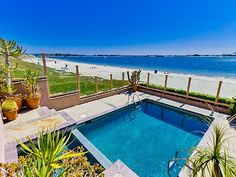 Mission Beach Vacation Rental - VRBO 426719 - 4 BR San Diego County House in CA, Mission Bay Water Front Home with Incredible Views, Pool, Spa and the Beach!