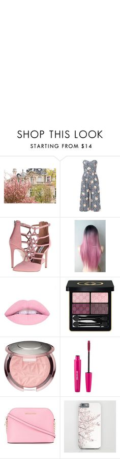 """""""Under the cherry blossoms"""" by whovian-vigilante on Polyvore featuring COREY, Steve Madden, Gucci and MICHAEL Michael Kors"""