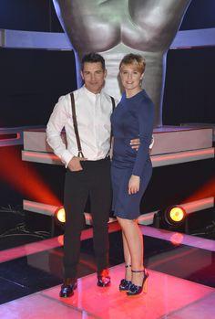 Jesús Vázquez y Tania Llasera (presentadores)