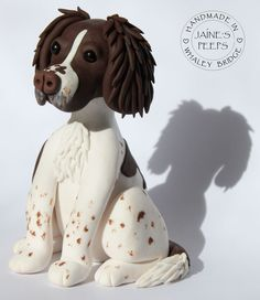 polymer clay springer spaniel - Google Search