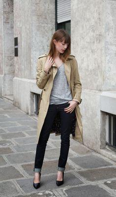 Trench & Cimarron jeans #ootd #cimarronparis #cimarronjeans #intoyourcloset