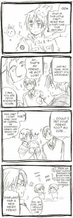 Hetalia APH Norway and England Chat