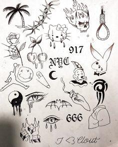 mini tattoos with meaning ; mini tattoos for girls with meaning ; mini tattoos for women Flash Art Tattoos, Body Art Tattoos, Sleeve Tattoos, Tree Tattoos, Kritzelei Tattoo, Doodle Tattoo, Blue Tattoo, Samoan Tattoo, Sharpie Tattoos