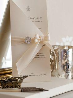 Maia Boxed inviti di nozze Wedding di WholeCaboodleDesign su Etsy