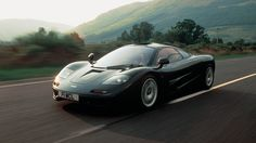 The McLaren F1 - Capable of 240 miles per hour, the F1 is still one of the fastest cars around, despite the fact that its been around since the 1990′s. A 627 horsepower V12 — courtesy of BMW — helps the F1 hit 60 in just 3.2 seconds.