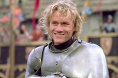 Heath Ledger in A Knight's Tale, one of the best Hollywood medieval-era movies, with a modern twist Heath Ledger, Live Action, Movie Drinking Games, Courtly Love, Romantic Movie Quotes, A Knight's Tale, Period Movies, Period Dramas, Hollywood