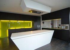 Unikat kitchen made in Corian®, designed by Unikat. #corian