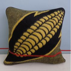 Basotho Blanket Cushion Cover - Mielies