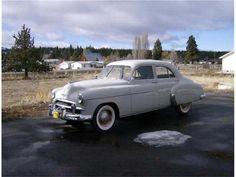 1950 Chevy Styleline Deluxe 4 Door Sedan- (Chevrolet Motor Co. Detroit, Michigan 1911-present)