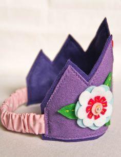 Personalized Felt Crown