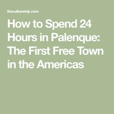 How to Spend 24 Hours in Palenque: The First Free Town in the Americas Music Tours, African Traditions, Best Cookbooks, Cultural Identity, World Music, The Republic, Revolutionaries, Day Trips, The One