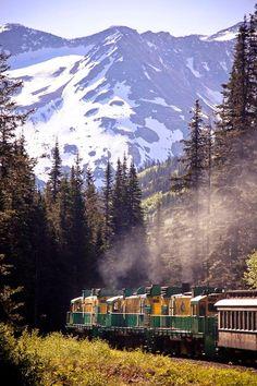 White Pass Train - Skagway, Alaska..