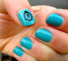 The #Nail Files: Victorian Thursday (Wednesday by #Zoya and vinyl sticker by Sam- see link!)