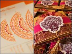 Wedding Cards Inspired From Mehendi Designs. #Wedding #WomenTriangle www.womentriangle.com
