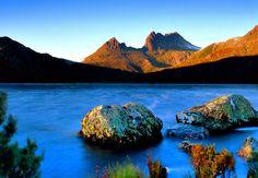 Lac Dove - parc national de Cradle Mountain - Tourisme Tasmanie