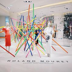 """HUDSON'S BAY COMPANY, Toronto, Canada, """"Roland Mouret has arrived at The Bay..... See You There"""", , pinned by Ton van der Veer"""
