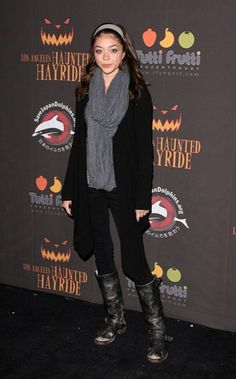 Celebs get chills during Haunted Hayride