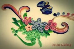 2d quilling by amora quilling