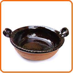Cazuelas negras de metepec
