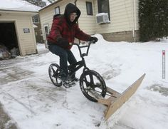 Are you hopelessly bored during winter? Try this, or... better not!