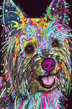 This Yorkie Yorkshire Terrier Dean Russo Metal Sign features a colorful, pop art depiction of the little dog. Framed Wall Art, Canvas Wall Art, Canvas Prints, Dog Prints, Animal Prints, Art Pop, Yorkshire Terriers, Cairn Terriers, Oeuvre D'art