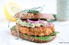Lunch Archives - Mind Your Feed A Food, Good Food, Food And Drink, Avocado Dressing, Oats Recipes, Salmon Burgers, Have Time, Granola, Food To Make