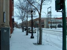 Downtown Brandon photos. Rosser Avenue at 11th Street looking east