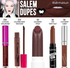 Lime crime liquid lipstick dupe in Salem // @kathrynglee123