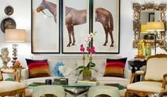 Equestrian helmets might not be the most significant style feeling today, but there are some stories behind them. The distinct design of the helmet, kept even in nowadays of modern materials and ad… Equestrian Decor, Equestrian Style, Equestrian Bedroom, Nyc, Elements Of Style, Elle Decor, Decoration, Living Spaces, Living Rooms