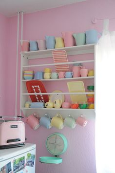 Pastels! These r the colors I want to do my trailer in!!