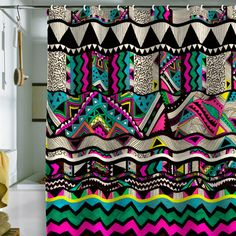 Kris Tate Fiesta 1 Shower Curtain