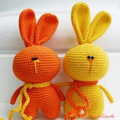 Вяжем маленького зайца-ушастика | Ушастики