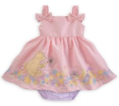 Winnie the Pooh Classic Woven Dress for Baby