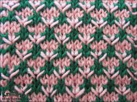 A really easy stitch that looks more complicated than it is. The Thorn stitch is an eight row repeat and is knitted in a multiple of four stitches plus one