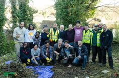 Grass Barbers team worked in partnership with local community group to clear an overgrown garden in Purley. Property is rented by charitable organisation to provide shelter housing for homeless families with children. What can be a better Christmas present for a child - than a new home with clean, safe and enjoyable garden. Great effort by everyone on-site today, in less than a day we all managed to turn large green overgrown jungle into accessible and safe garden! www.grassbarbers.co.uk