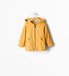 HOODED TRENCH COAT from Zara