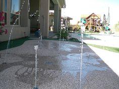 Splash Pad Features by Rain Deck