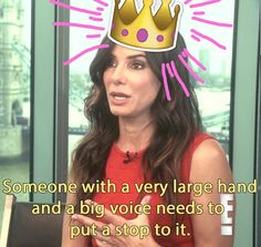 "QUEEN. | Sandra Bullock Had The Best Reaction To Being Named ""World's Most Beautiful Woman"""